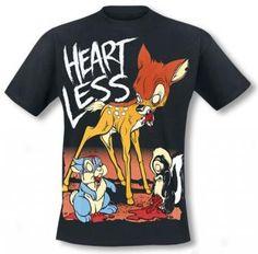 Cupcake Cult Heartless T-Shirt Zombie Bambi