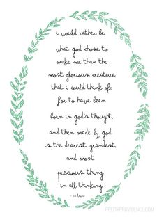 C.S. Lewis was so inspired. [Free printable!]
