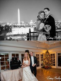 """""""Songbird"""" by Fleetwood Mac. Winter Wedding at The Hay Adams for Kate and Nick, @Rodney Bailey Photography"""