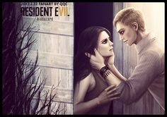 Mia and Ethan-Resident evil 7 by ainelovia on DeviantArt Resident Evil Vii, Resident Evil 7 Biohazard, Bioshock Art, Albert Wesker, Leon S Kennedy, Myths & Monsters, Horror Video Games, Video Game Companies, Jill Valentine