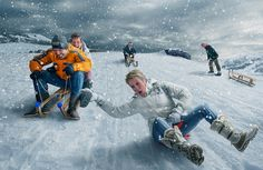 Snow race ;) by Adrian Sommeling on 500px