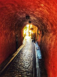 "Gåsgränd (Swedish: ""Goose Alley"") is an alley in Gamla stan, Stockholm. Stockholm Old Town, Stockholm Sweden, Italian White Wine, Places To Travel, Places To Go, Copenhagen Travel, Gothenburg, Beach Trip, Beach Travel"