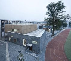 trace architecture office xiaoquan elementary school