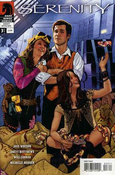 Serenity: Better Days Issue #3 - Printing #1 May 2008 - $3.98 - Near Mint - 3-51542