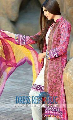 Shariq Textile Subhata Lawn Collection 2015 With Price Party Wear Dresses, Dress Suits, Lawn Suits, Desi Clothes, Famous Brands, Spring Summer 2015, Simple Dresses, Dress Collection, Pakistan