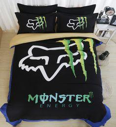 Monster Energy Duvet Covers