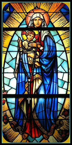 Our Lady of the New Millennium Stained Glass Window, Our Lady of Victories Catholic Church, Paterson, New Jersey