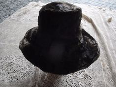 Vtg  Faux  Fur  Floppy Bucket Hat Sz S/M Union Label USA Brown #Unbranded #Bucket #Dresscasual