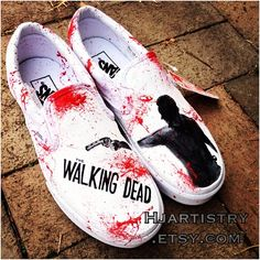 Wow. 'Looks like somebody read my wish list. .@Hollie Baker.J. Artistry with Walking Dead Vans customs. via Webstagram.