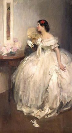 ▴ Artistic Accessories ▴ clothes, jewelry, hats in art - Walter Ernest Webster Portraits, Portrait Art, Leicester, Victorian Paintings, Wedding Art, Light Painting, Figure Painting, Figurative Art, Pretty Pictures