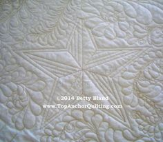 Star Machine Quilting Templates – TopAnchor Quilting Tools