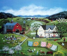 Mary Singleton Painting -Spring Cleaning