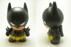Batman Munny by ~xf4LL3n on deviantART - I neeeeeed this