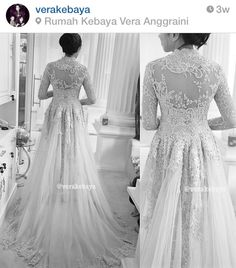 My dream Anggraini Vera Kebaya, Kebaya Hijab, Dream Wedding Dresses, Wedding Gowns, Modern Kebaya, Indonesian Kebaya, Kebaya Wedding, Batik Dress, Traditional Outfits