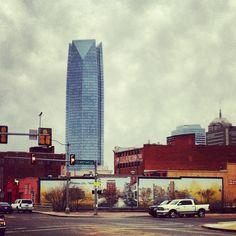 Downtown OKC.