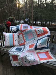 Baby Quilt & Pillow - Quilting in Queens