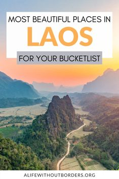 An expat's guide to the best places to visit in Laos. From Luang Prabang, Vang Vieng, and the 4000 Islands, to Vientiane, Pakse, and Champasak, you'll find all the top destinations in Laos – plus plenty more! #Laos | Laos Itinerary | Laos Travel | Where to go in Laos | Laos travel guide | Laos destinations | #LuangPrabang #Vientiane #VangVieng Laos Destinations, Pakse, Laos Travel, Vientiane, Luang Prabang, Where To Go, Cool Places To Visit, Travel Guide, The Good Place