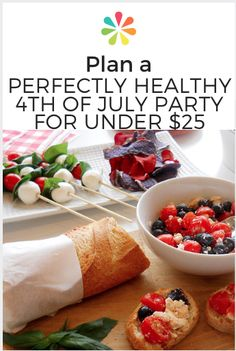 With 4th of July approaching, we challenged ourselves to create a quick-and-easy, patriotic menu using ultra-healthy ingredients. #julyfourthmenu #everydayhealth | everydayhealth.com