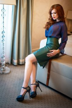 Clothes Make the Whore — matina-heel: Kinga Waszak by Daniel Bidiuk ...