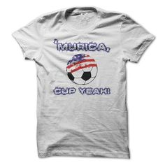 Murica, CUP YEAH Soccer T Shirts, Hoodies. Get it here ==► https://www.sunfrog.com/Sports/Murica-CUP-YEAH-Soccer-shirt.html?57074 $19