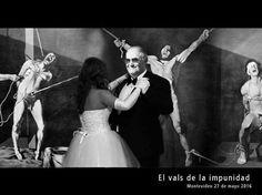 Uruguay: EL VALS DE LA IMPUNIDAD: escrache en la puerta de la casa del torturador Gavazzo