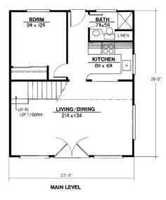 First Floor Plan Of Contemporary House Plan  With Floor Plan Changes