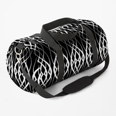 Clutches, Print Design, Shoulder Strap, Curves, Black And White, Printed, Awesome, Classic, Bags