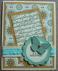 Summer Celebrate Spice by Muffin's Mama - Cards and Paper Crafts at Splitcoaststampers