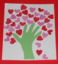 Love this heart tree, moederdag of Valentijn