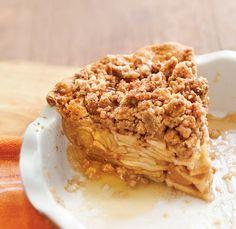 Apple Crumb Pie @ Celebrate Magazine