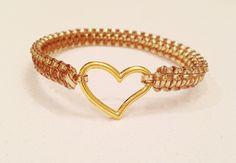 Janel Heart Bracelet