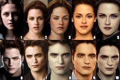 The Transformation of Bella Swan, Edward Cullen and Jacob Black (Twilight, New Moon, Eclipse, Breaking Dawn Part 1 and Breaking Dawn Part Jacob Black Twilight, Twilight Saga Quotes, Twilight Saga Series, Twilight Edward, Twilight Cast, Twilight New Moon, Twilight Series, Twilight Movie, Kristen Stewart