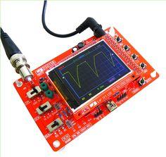 "DIY Kit DSO138 2.4"" TFT Digital Oscilloscope Kit DIY Parts 1Msps - Function DIY - Arduino, 3D Printing, Robotics, Raspberry Pi, Wearable, LED, development boardICStation"