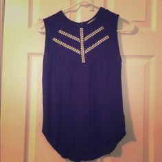 High neck tank So cute, love this tank. Just too small on me sadly  Fits like a small Elodie Tops Tank Tops