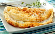 Receita de omelete para a fase ataque da dieta dukan muito fácil.