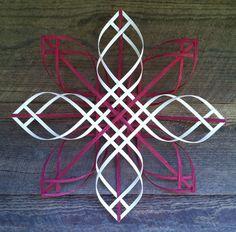 Scandinavian Swedish Advent woven reed star by HarlequinCreek