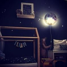 What a cosy room. Love the combination of the stars on the wall and in the bedding. Another great #hartendieftips post from one of our customers. Picture by @jaschminka #hartendief #hartendieftips #sleepymoon #bearwallsticker #starryskystickers #kidslamp #kidsroomstyling #bedhouse #kidsroom #kinderzimmer #kinderzimmerideen #chambreenfant #toddlerroom #toddlerlife #bigboybed