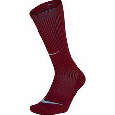 Nike Unisex Elite Cushioned Crew Running Socks Maroon 10-11.5 SX5825-677 #Nike Football Socks, Basketball Socks, Running Socks, Nike Running, Nike Socks, Nike Models, Black Socks, Nike Dri Fit, Mens Fitness