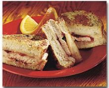 #Turkey Monte Cristo - great way to enjoy #Thanksgiving #leftovers!