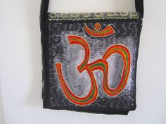 small crossbody bag embroidered with by elephantsofindia on Etsy, $24.00