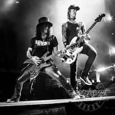 Slash & Duff...Guns n Roses