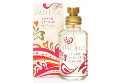 Fun, fresh and fantastic, Pacifica Spray Perfume is made with natural, pure grain alcohol (corn-sourced and gluten-free) and Pacifica's signature perfume blends with essential and natural oils. Icy and mysterious in Island Vanilla, it's sexy, easy to wear and lovely to layer!
