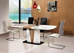 Esstisch Cangass 90 cm x 160 cm ausziehbar auf 90 cm x 200 cm, Lieferzeit ca 3-4 Wochen, die Stühle sind separat erhältlich.