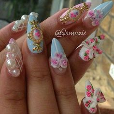 In seek out some nail designs and ideas for the nails? Listed here is our list of 28 must-try coffin acrylic nails for stylish women. 3d Nails, Stiletto Nails, Pink Nails, Acrylic Nails, Fabulous Nails, Gorgeous Nails, Pretty Nails, Dream Nails, Love Nails