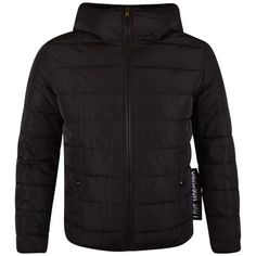 LOVE MOSCHINO BLACK LABEL HOODED JACKET. Available now at www.brother2brother.co.uk