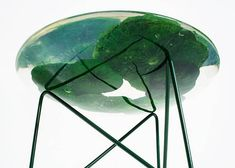 Singaporean Olivia Lee's Float is an exquisite coffee table that looks like a lotus pond.