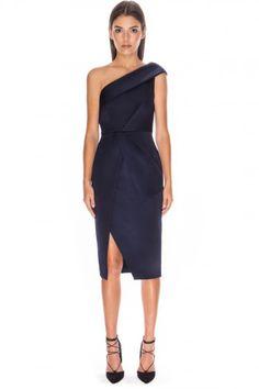 COLD SHOULDER DRESS dark navy Daily Fashion, Fashion Online, Lace Dress, Dress Up, Australian Fashion, Dark Navy, Fashion Outfits, Womens Fashion, Get Dressed