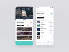 HealthyAr Product Recognised compare list augmentedreality machine learning ux ui typography iphone x health app augmented reality ar Mobile Ui Design, App Ui Design, Vector Design, Android Ui, Mobile App Ui, Health App, Screen Design, Design Inspiration, Apps