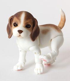 Iplehouse BJD Pet Beagle in Caramel Apple