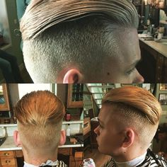 And great haircuts in particular Mens Summer Hairstyles, Mens Hairstyles With Beard, Side Hairstyles, Undercut Hairstyles, Hair And Beard Styles, Short Hair Styles, Hot Haircuts, Cool Mens Haircuts, Barber Station